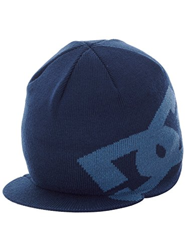 Dc shoes berretto cuffia BIG star visor blue