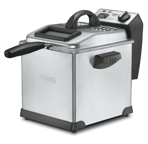 Waring DF175 Digital Deep Fryer, 3-Liter