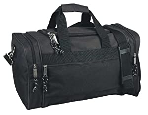 Blank Duffle Bag Duffel Bag in Black Gym Bag