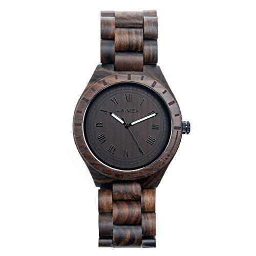 Laimer orologio in legno uomo special edition for Orologio legno amazon