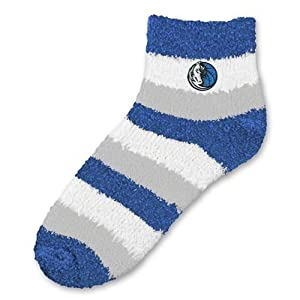 NBA Dallas Mavericks Women's Fuzzy Sleep Socks, One Size