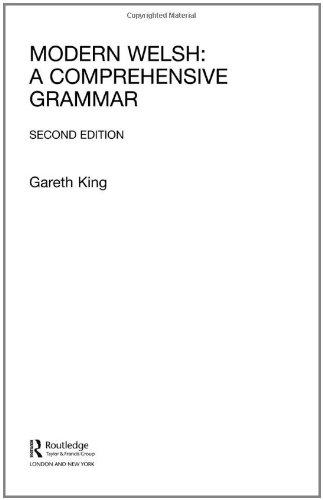 Modern Welsh: A Comprehensive Grammar (Comprehensive Grammars)