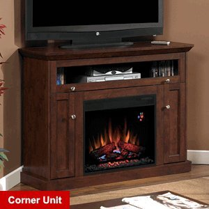 Cheapest Price! Classic Flame Windsor Fireplace in Brown Cherry