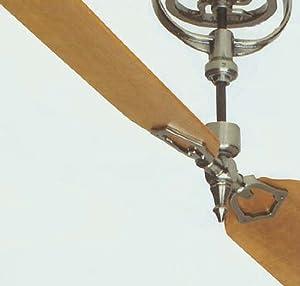 Brewmaster pewter short neck ceiling fan blades - Ceiling fan short blades ...