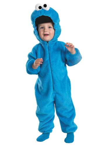 Sesame Street - Cookie Monster Toddler Halloween Costume