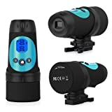 eSynic® HD Sport Action Helmet Camera- 720P Waterproof DVR Video Camera DV Cam Head Camcorder- Wide Amazon