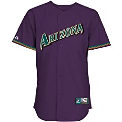 Majestic Athletic Arizona Diamondbacks Replica Luis Gonzalez Cooperstown Alterna by Majestic Athletic