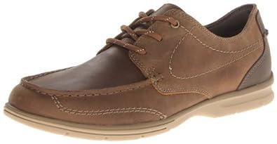 Clarks 其乐 男士真皮休闲鞋,$40.69(使用鞋类八折优惠码)