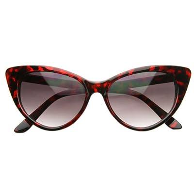 Cat Eye Glasses Red Tortoise