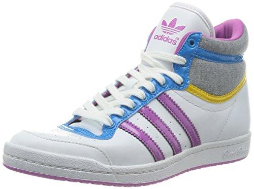 adidas Top Ten Hi Sleek W, Sneaker donna RunWhite/Joyor, Bianco, 36.6666666667