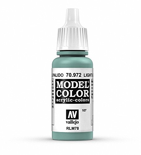 Vallejo Light Green Blue Paint, 17ml - 1