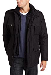 Michael Kors Men's Walker Poly-Bonded Bibby Field Coat