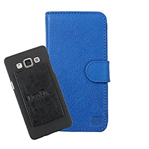 DooDa Genuine Leather Wallet Flip Case Cover With Card & ID Slots For HTC Desire 816 - Back Cover Not Included Peel And Paste