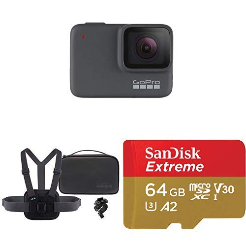 GoPro HERO7 Silver + Sports Kit + (1) microSD Card