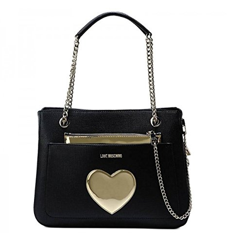Love Moschino Medium Shopping Bag Black thumbnail