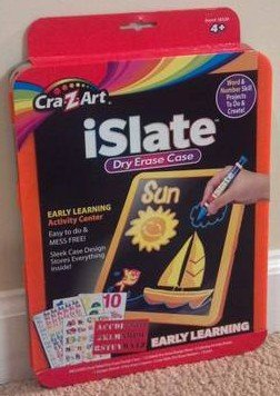 CRA-Z-ART iSlate Early Learning Dry Erase Case