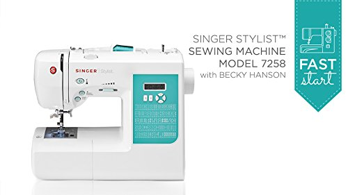 Fast Start - Singer Stylist 7258 (Digital Sewing Machine Singer compare prices)