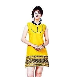 Kaya Women's Cotton Kurti (005KUCO003_Multi-Coloured_X-Large)