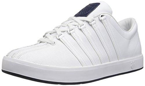 k-swiss-the-classic-ii-scarpe-sportive-unisex-adulto-unisex-adulto-bianco-blu