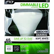 TCP BR30 Dimmable LED Floodlight Light Bulb-12W BR30 LED 27K BULB