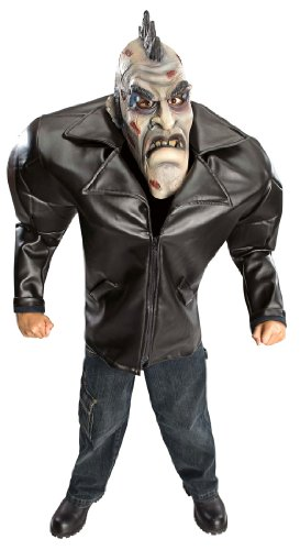 Kids Big Bruiser Punk Zombie Costume