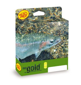 Rio Gold New 2012 WF7F Floating Fly Line Moss & Gold [Misc.]