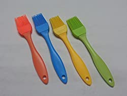 Silicone Basting Brush Kitchen Oil Cooking Tools , Multi Color ... oil brush