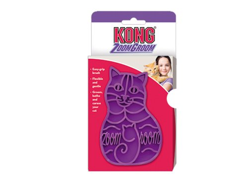 Kong Zoomgroom, Cat Grooming Brush