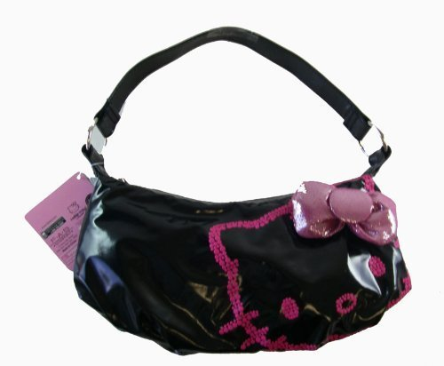 Sanrio Hello Kitty Hobo Purse – Black