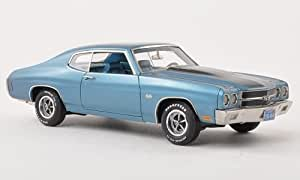 Amazon.com: Chevrolet Chevelle SS 454, met.-blue with black stripes