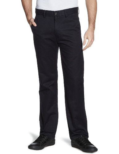 Dockers D1 Attk Straight Men's Trousers Navy W36 INXL30 IN
