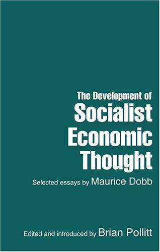 Development of Socialist Economic Thought