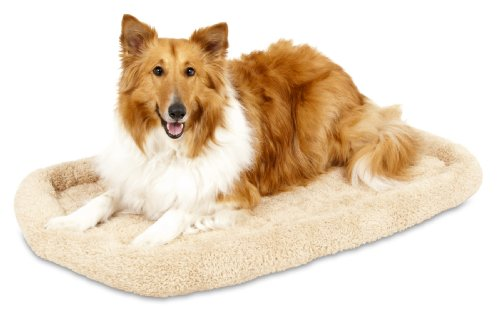 Aspen Pet Bolster Style Kennel Mat, 36-1/2 By 23-1/2-Inch front-53285