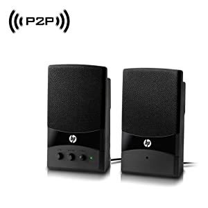 Wireless Spy Camera with WiFi Digital IP Signal, Recording & Remote Internet Access (Camera Hidden in Computer Speakers)