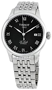 Tissot Men's T41148353 Le Locle Black Dial Watch by Tissot