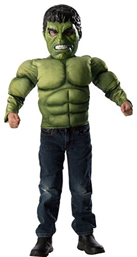 Hulk Kids Muscle Chest Shirt Kit
