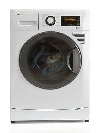 Beko WDA96160 machine à laver avec sèche linge - machines à laver avec sèche linge (Front-load, Autonome, Blanc, Gauche, A, A)