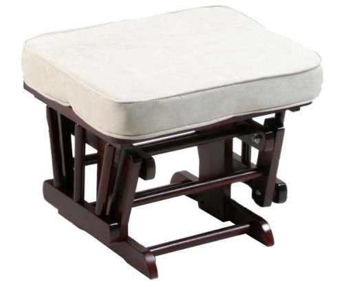 Stork Craft Matching Ottoman For Sleigh Gilder Chair In Cherry With Beige Cushion - Buy Stork Craft Matching Ottoman For Sleigh Gilder Chair In Cherry With Beige Cushion - Purchase Stork Craft Matching Ottoman For Sleigh Gilder Chair In Cherry With Beige Cushion (Sports & Outdoors, Categories)
