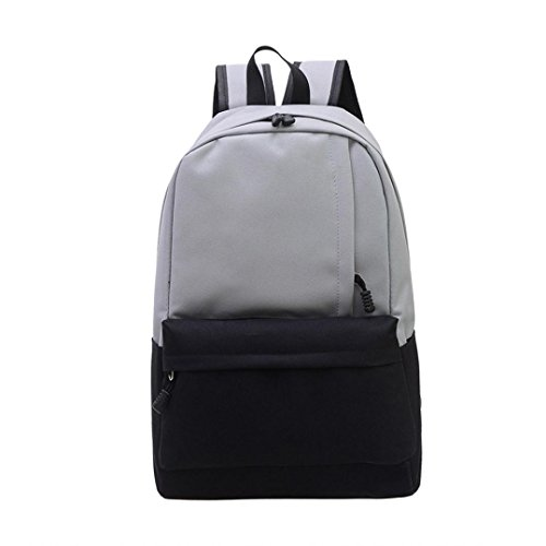cloder-unisex-vintage-lona-morral-mochila-colegio-mochila-bolsa-mochila-de-senderismo-gris