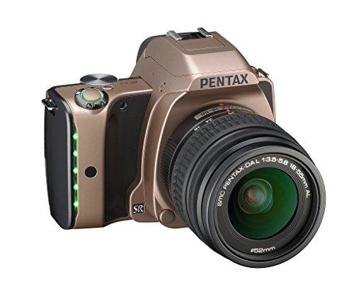 RICOH デジタル一眼レフ PENTAX K-S1 レンズキット [DAL18-55mm] ダスクゴールド PENTAX K-S1 LENSKIT DUSK GOLD 06563