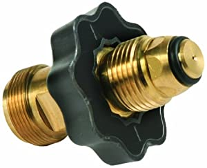 "Camco 59943 Propane Cylinder Adapter - Soft Nose POL x 1""- 20 Male Throwaway Cylinder Thread at Sears.com"