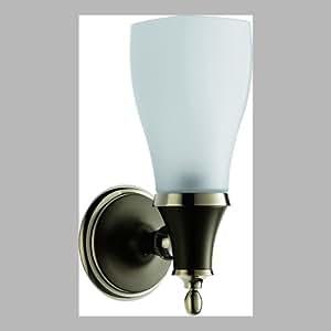 Brizo 697085-PNCO Charllote Single Light Wall Sconce in Cocoa Bronze/Polished Nickel 697085-PNCO
