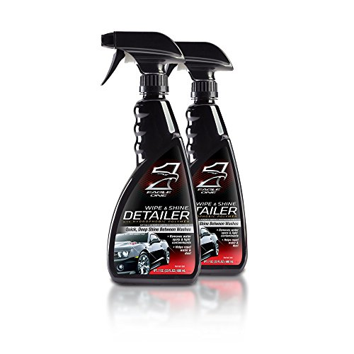 Eagle One Wipe and Shine Detailer 23oz. Spray 2pk (Eagle One Car Care Products compare prices)