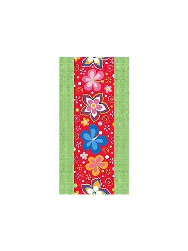 Lets Hula Luau 54 Inch X 108 Inch Tablecover - Each