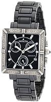 Invicta Womens 0720 Ceramic Chronograph Diamond Accented