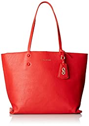 Cole Haan Hannah Tote, Fiery Red, One Size