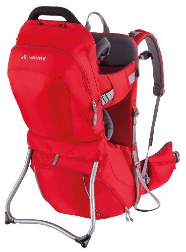 vaude-kindertrage-shuttle-comfort-portabebe-color-rojo-talla-uk-talla-25