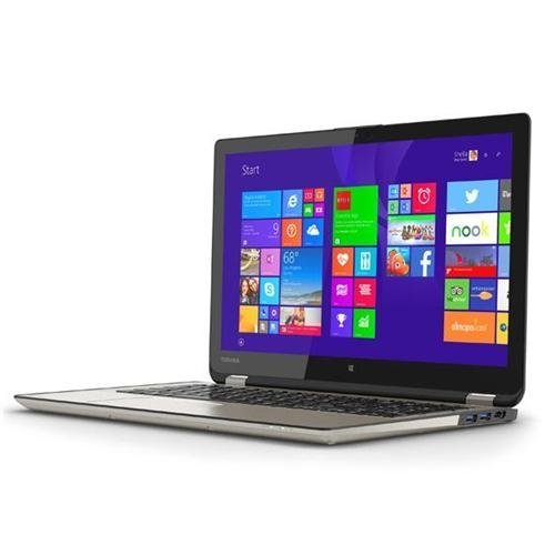 "Toshiba Satellite 2-in-1 Convertible Tablet UltraBook 15.6"" Touchscreen Laptop Radius P55W-B5224 Intel Core i7 4510U 2.0GHz 8GB DDR3 RAM 1TB HDD Windows 8.1 (Certified Refurbished)"