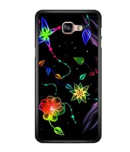 printtech Colored pattern streak Back Case Cover for  Samsung Galaxy A9 (2016)