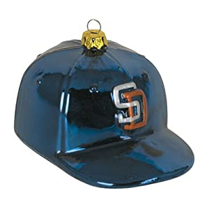 MLB Baseball Cap Ornament MLB Team: San Diego Padres by SC Sports